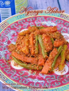 A taste of memories -- Echo's Kitchen: Nyonya Achar Awak (Nyonya Pickles)