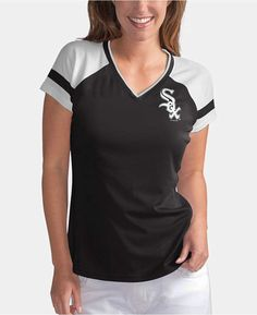 6d0ad42cd8f G-iii Sports Women Chicago White Sox Biggest Fan T-Shirt Chicago White Sox