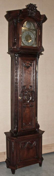 Antique Louis XVI Country French Clock | Antique Grandfather Clocks | Inessa Stewart's Antiques