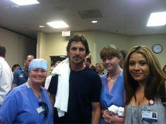 Dark Knight Rises' star Christian Bale visits victims of Aurora theater massacre
