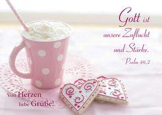 """Postkarte """"Von Herzen liebe Grüße"""""""
