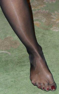Used Nylon Pantyhose Toes 121