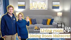 $400 Home Makeover - Decorating on a Budget