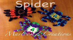 rainbow loom tarantula video from marloomz creations
