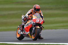 MotoGP: Marc Márquez lidera em Silverstone