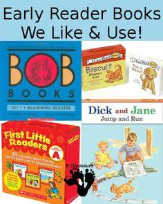 Early Reading Books We Like & Use - 3Dinosuars.com