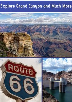 The Grand Canyon is one of the most magnificent natural wonders of. Grand Canyon Tours, Hoover Dam, Route 66, Natural Wonders, Vegas, Explore, Day, Link, Travel