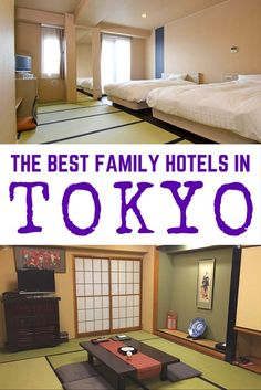 [Best Family Hotels in Tokyo: Japan Family Travel ] There are many things to do with kids in Tokyo. Public transportation is clean and punctual, and it's safe to walk around at night. People are generally helpful even when they don't speak much of English.  Tokyo is one of the perfect family travel destinations. Still, it's not easy to find the best family hotel in Tokyo. Don't worry. We researched for you. Read our post to find one of the best family hotels in Tokyo that suits your need.