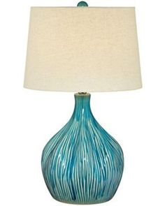 Love this #turquoise lamp