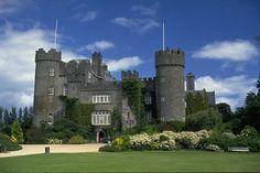 View of an Irish Castle