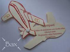 Risultati immagini per invito 18 anni biglietto aereo