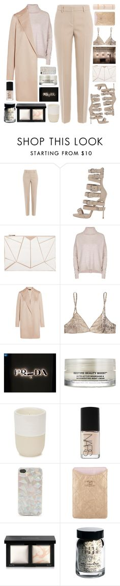 """""""Untitled #2613"""" by tacoxcat ❤ liked on Polyvore featuring DKNY, 10 Bells, Topshop, The Row, Roberto Cavalli, Oskia, Norden, NARS Cosmetics, With Love From CA and Chanel"""