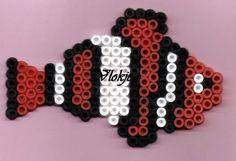 sandylandya.Clownfish perler beads