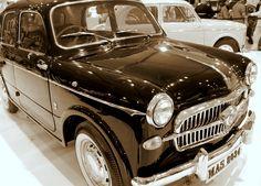 1957 Fiat Elegant on display at the Mumbai International Motor show