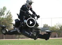 """Dubaiban a zsarukat már arra tanítják, hogy 150.000 dollár értékű repülő """"motorkerékpárokat"""" vezessenek! Cover, Vehicles, Lawn And Garden, Car, Vehicle, Tools"""