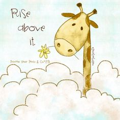 I am trying so hard to Rise above it!!
