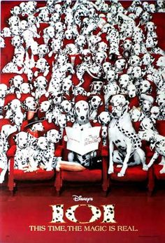 Disney 101 Dalmatians Movie #1 Poster