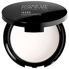 A silky, lightweight finishing powder that softens the appearance of fine lines and pores.  Created specifically for HD technology, this talc-free professional touch-up powder is perfect for use throughout the day to reduce shine and slightly mattify skin. It adds a soft-focus, naturally radiant effect to blur imperfections, such as fine lines and pores, while remaining completely invisible to even the most magnified HD lens.