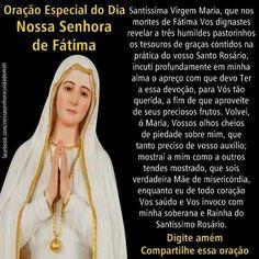Oração Nossa senhora de Fátima