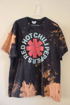 buy popular 3c8ed f833b Each splatter bleached t shirt is a one of a kind and can not be duplicated