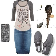 """Good vibes"" by countryshea on Polyvore featuring polyvore fashion style maurices Diesel Keds"