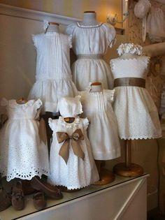 Vestidos em branco La Oca Loca / White Dresses by La Oca Loca