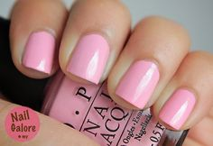 OPI Pink Friday...for Valentine's Day. A bit streaky for me.
