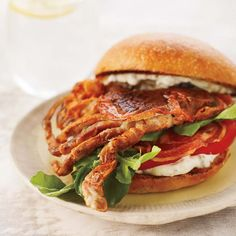 Soft-Shell Crab Sandwiches with Pancetta and Remoulade // Beach Shack Classics: http://www.foodandwine.com/slideshows/beach-shack-classics/1 #foodandwine
