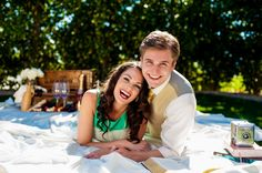 The Great Gatsby Inspired Styled Shoot {Engagement} Photo By Elizabeth Langford Photography