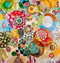 "Not collage -- OIL! Love!!   Artist is Melinda Hackett <a href=""http://www.melindahackett.com/"" rel=""nofollow"" target=""_blank"">www.melindahacket...</a>"