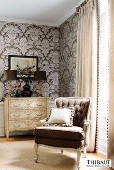 『Import Wallpaper TECIDO THIBAUT Selection THIBAUT 839T7615』 http://item.rakuten.co.jp/interior-cozy/839t7615_839t7620/ #wallpaper #interior #diy #usa #輸入壁紙 #壁紙
