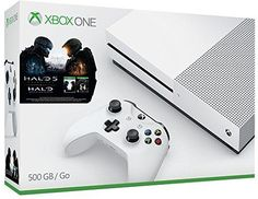 Microsoft Xbox One S 500GB Console Halo Collection Bundle Brand NEW Brand new in original retail packaging. Experience richer, more luminous colors in... #bundle #brand #collection #halo #xbox #console #microsoft