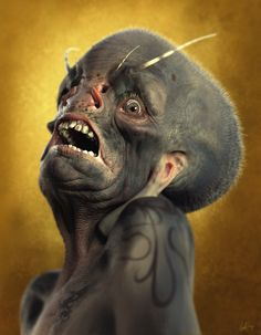 Neville Page: Creature Concept in ZBrush