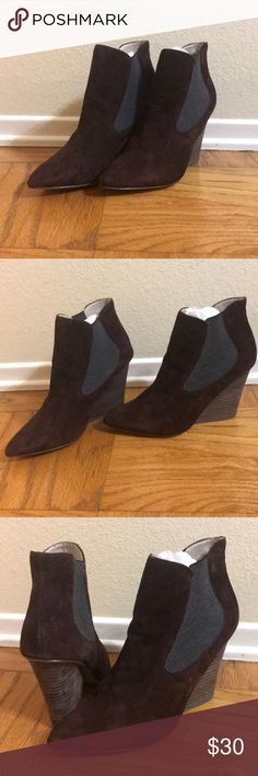 Steven by Steve Madden brown suede booties Steven by Steve Madden brown  suede booties. BRAND