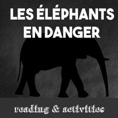 Elephants are an intelligent and useful species.  Unfortunately, they are being hunted to extinction for their tusks.  Learn about how the ivory trade is affecting the ecosystem and the history of the trade.This 2-page reading for intermediate and advanced French learners tells the story of this organization.