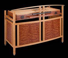 Skeleton Desk by Robert Krantz: Wood Desk available at www.artfulhome.com