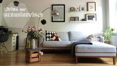 Skandinavisch Einrichten ist voll im Trend, auch Jasmin von Roombeez lässt sich von den schlichten Designs und freundlichen Farben begeistern.