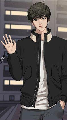 Hot Anime Boy, Anime Guys, Manga Anime, Suho, Beauty Web, True Beauty, Handsome Anime, Handsome Boys, Man Illustration