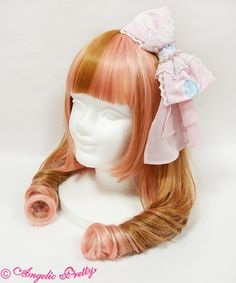 Marine Kingdom Headbow in Pink by Angelic Pretty.