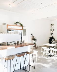33 Acres blew me away!  Not only with their coffee and service, but with the absolutely stunning space that it was provided in!  This place is easily one of my favorite interiors with its minimalist vibe and bright focus!