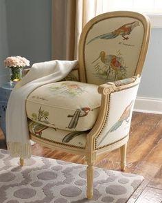 Blue Bird chair