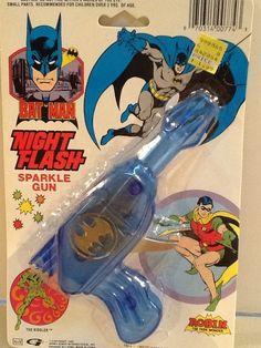 Batman Night Flash Sparkle Gun