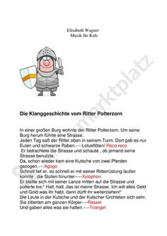 : The knight Polterzorn plus matching song a.: The knight Polterzorn plus matching song a.