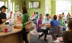 College Corner Coffee and Books, Alma, MI