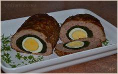 Velikonoční roláda (sekaná) Sushi, Foodies, Good Food, Ethnic Recipes, Healthy Food, Yummy Food, Sushi Rolls