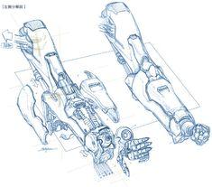 Arte Robot, Robot Art, Power Rangers, Zoids, Gundam Tutorial, Robots Drawing, Steven Universe Comic, Robot Concept Art, Gundam Art