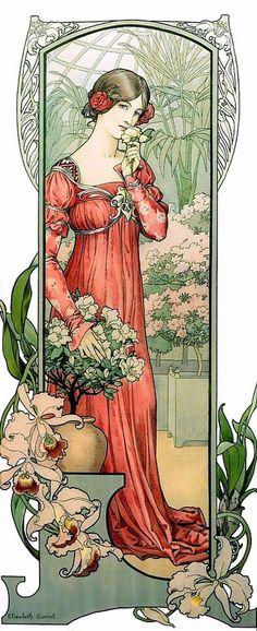 Elizabeth Sonrel - 1874-1953 - Fleur de serre - 1900