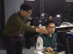 MRW my coworker is commenting my code (uninvited) during intense coding session