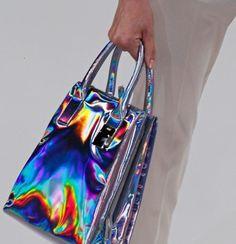 holographic prism purse/bag