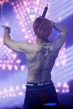 VIXX Ravi back tattoo